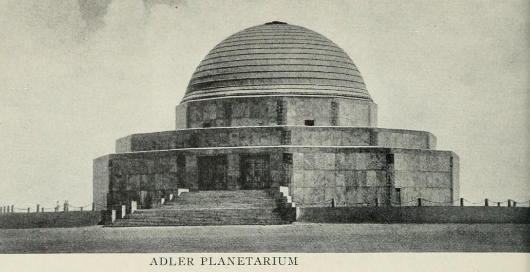 Alder Planetarium 1933