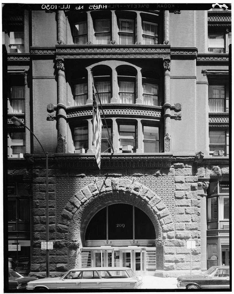 Rookery Building Detail